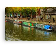 Riverside Rooms Canvas Print