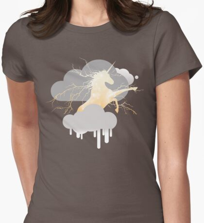 The Unicorn Thunderbeing - Dawn Womens Fitted T-Shirt