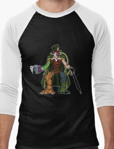 Mashups: Batman's Rogues Men's Baseball ¾ T-Shirt