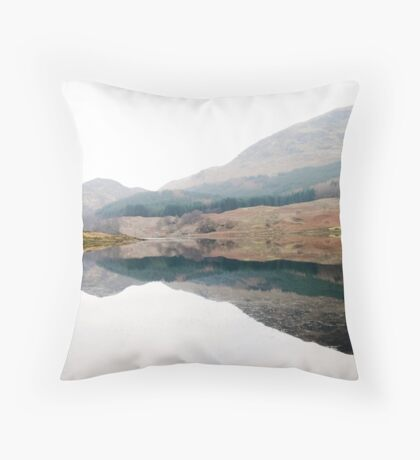 Scottish Inkblot Throw Pillow