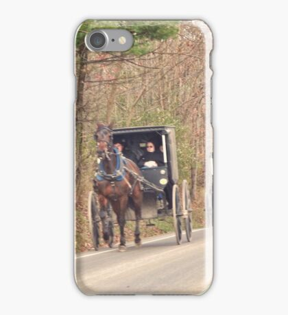Amish Traffic Jam iPhone Case/Skin
