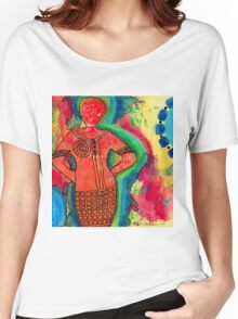 She's a SUPER Woman Women's Relaxed Fit T-Shirt