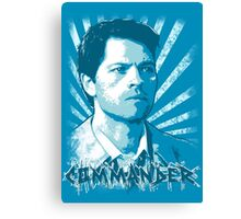 Castiel - Commander Canvas Print