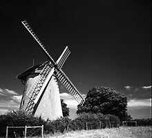 Bembridge Windmill, Isle of Wight by Lachlan Doig