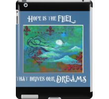 Hope is the fuel - Art by ANGIECLEMENTINE iPad Case/Skin