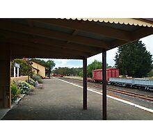 Historic Drysdale Railway Station,Bellarine Peninsula Photographic Print