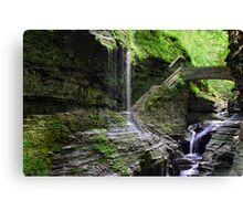 Rainbow Falls and Stone Bridge Canvas Print