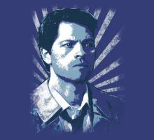 Castiel - Portrait T-Shirt