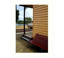 Historic Drysdale Railway Station Art Print