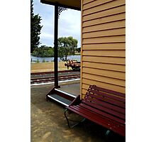 Historic Drysdale Railway Station Photographic Print