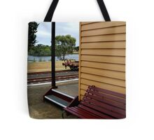 Historic Drysdale Railway Station Tote Bag