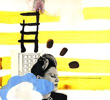 put up a ladder by Randi Antonsen
