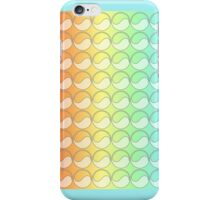 Rainbow gradient circles iPhone Case/Skin