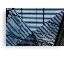 Reflective Ripples of Disorientation Canvas Print