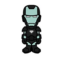 Iron Diamond Man by dvdcartoonz