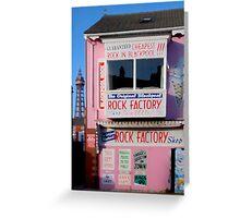 Rock Factory Greeting Card