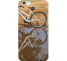 Reflection of  Mountain Bike.... iPhone Case/Skin