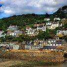 Polperro by David Wilkins