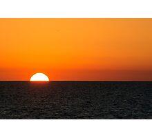 Sunset Scarborough Beach WA Photographic Print