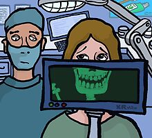 X-ray at the dentist by ElectronicCloud