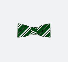 slytherin bow tie by remedies