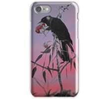 Carnaby's Cockatoo at Sunrise iPhone Case/Skin