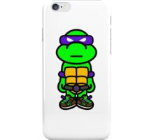 Purple Renaissance Turtle iPhone Case/Skin