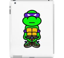 Purple Renaissance Turtle iPad Case/Skin