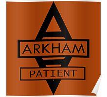 Batman - Arkham Patient Poster