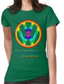 Psychedelic dubstar  Womens Fitted T-Shirt