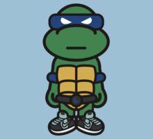 Blue Renaissance Turtle Kids Tee