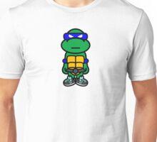 Blue Renaissance Turtle Unisex T-Shirt