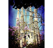 La Sagrada Familia Photographic Print