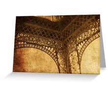 Under Tower Greeting Card