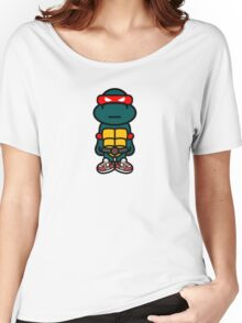 Red Renaissance Turtle Women's Relaxed Fit T-Shirt