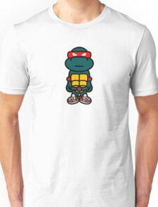 Red Renaissance Turtle Unisex T-Shirt