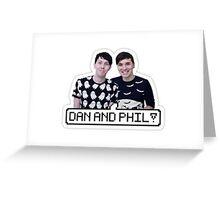 Pixel Phan Greeting Card