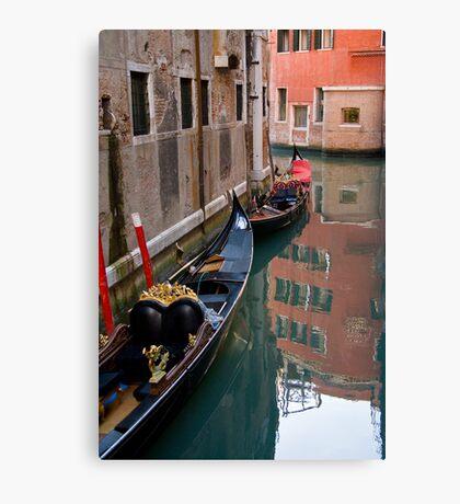 Quiet Water in Venice Canvas Print