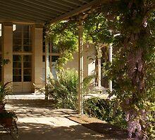 Vaucluse House, verandah view by BronReid