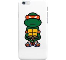 Orange Renaissance Turtle iPhone Case/Skin