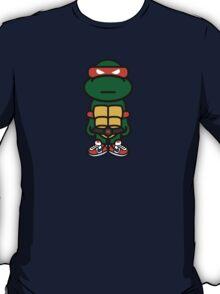 Orange Renaissance Turtle T-Shirt