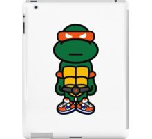 Orange Renaissance Turtle iPad Case/Skin