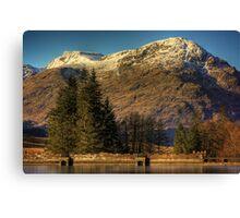 Arrochar Alps Canvas Print