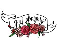 girl almighty Photographic Print