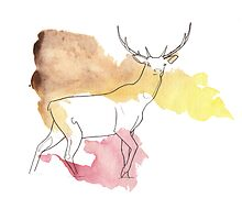Red Deer  by yther