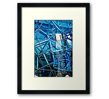 Glasshouse City Framed Print