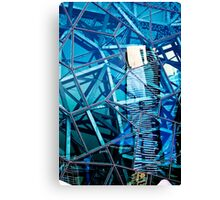 Glasshouse City Canvas Print