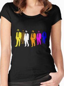 Reservoir Colors with Mr. Blue Women's Fitted Scoop T-Shirt