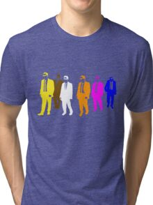 Reservoir Colors with Mr. Blue Tri-blend T-Shirt