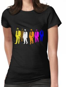 Reservoir Colors with Mr. Blue Womens Fitted T-Shirt